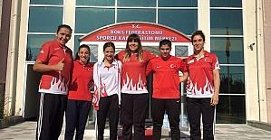 Düzce Üniversitesi spor bilimleri fakültesi öğrencisi Avrupa birincisi oldu