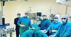 (Düzeltme) Batman'da laparoskopi yöntemi ile rahim alma ameliyatı yapıldı