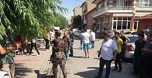 Edirne'de mahalle halkı ayaklandı, özel harekat sokağa indi