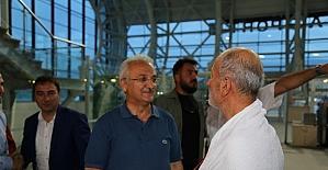 Erzincan'dan 158 hacı adayı dualarla uğurlandı