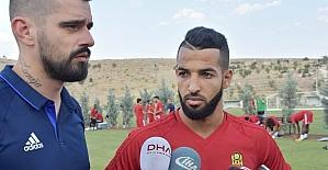 Evkur Yeni Malatyasporlu futbolculardan lig değerlendirmesi