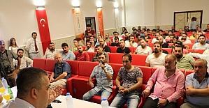 Gaziantepli sanatçılar hakları anlatıldı
