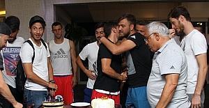 Gazişehir'den sürpriz doğum günü