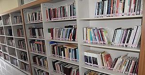 Genç'te öğrenciler, kütüphaneden 6 ayda 22 binkez yararlandı