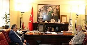 Genel Sekreteri Yalçın'dan il müftülüğüne ziyaret