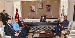 Hakkari'deki başkanlar, Ankara'da ziyaretlerde bulundu
