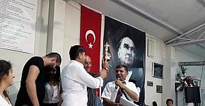 Hamzalı'da köy ağası seçildi