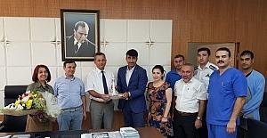 Hizmet-İş'den Erciyes Üniversitesi'ne Ziyaret