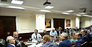Ilıcalı, Ziraat Odası Başkanlarını Bakan Fakıbaba ile buluşturdu