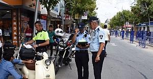 İstanbul caddesinde denetimler sıklaştırıldı