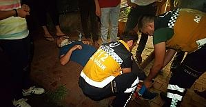 Karşı şeride giren otomobil kazaya neden oldu: 1 yaralı