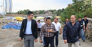 Kartal Belediyesi Başkan Vekili Gülcemal Fidan'dan kurban satış ve kesim alanlarına ziyaret