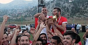 Kızıldağ'da futbol heyecanı