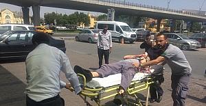 Kolunu makineye kaptıran işçi yaralandı