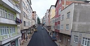 Korgan ilçe merkezi sıcak asfalta kavuşuyor