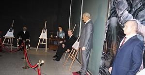 Malatya Park'ta balmumu heykel sergisi