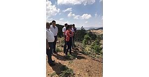 Manisa'da 700 dekar arazi suya kavuşuyor
