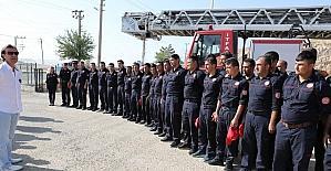 Mardin'de itfaiye personeline eğitim