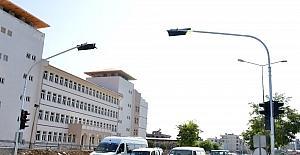Mersin'de önemli kavşaklara sinyalizasyon sistemi