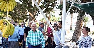 'Mersin'i Nakış Nakış İşliyoruz' sloganıyla başlatılan programların ilki Aydıncık'ta yapıldı