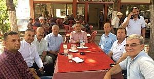 Milletvekili Mustafa Şükrü Nazlı Şaphane'de