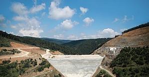 Milletvekilleri Akçay barajında incelemelerde bulundu