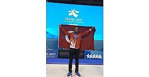 Milli eskrimciden, Universiade 2017'de gümüş madalya