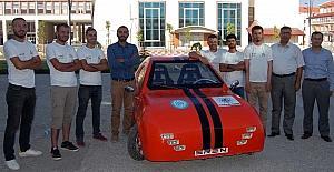 (Özel haber) Bitlis Eren Üniversitesi bölgenin ilk elektrikli arabasını üretti