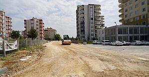 Petrol Caddesine bağlanan yollarda asfalt çalışması yapıldı