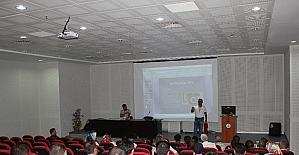 Sağlık çalışanlarına yangın güvenliği eğitimi