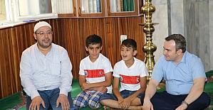 Siirt Belediye Başkan Vekili Taşkın Kur'an Kursu öğrencilerini ziyaret etti