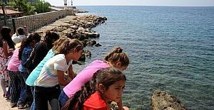 Şırnaklı çocuklar ilk defa denizi gördü