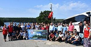 Şırnak'tan Sinop'a gelen gençler ilk kez deniz gördü