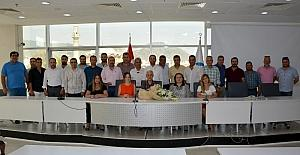Söke Ticaret Odasının yenilikçi grubundan Başkan Toyran'a ziyaret