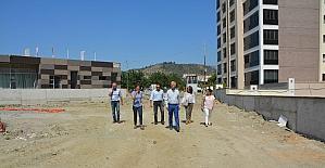 Söke'de semt parkı, spor alanları ve otopark projesi son aşamada