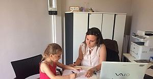 Süleymanpaşa Çocuk Kulübü üyelerine okula hazırlık testi yapıldı