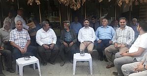 TBMM Başkan Vekili Aydın Çelikhan'da vatandaşlarla bir araya geldi