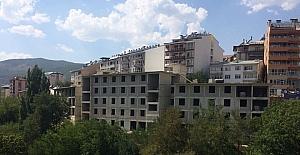 Tunceli'deki kız yurdunun kaba inşaatı tamamlandı