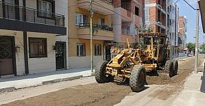 Turgutlu'da altyapısı tamamlanan sokaklar yenileniyor