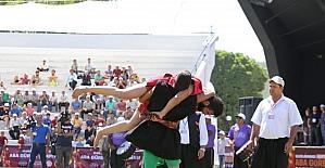 Uluslararası Aba Güreşi Gaziantep'te başladı