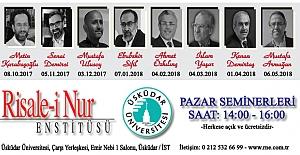 Üsküdar Üniversitesi Pazar Seminerleri Başlıyor