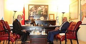 Vali Zorluoğlu'ndan müftülük ziyareti