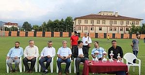 Yaz kuran kursu futbol final maçında Pazarköy şampiyon oldu