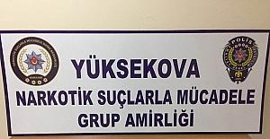 Yüksekova'da eroin operasyonu