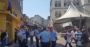 Zabıta ve polisten dilenci operasyonu