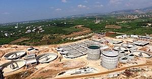 20 milyon Euro'luk arıtma tesisi projesinin yüzde 70'i tamamlandı