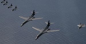 ABD savaş uçakları Kuzey Kore'de