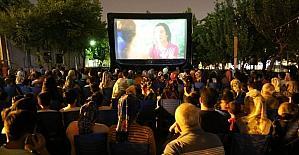 Açık hava sinema etkinliklerinin sezon finali yapıldı
