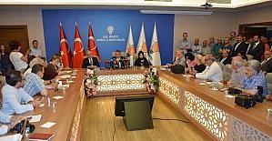 AK Parti Bursa il yönetimi belli oldu