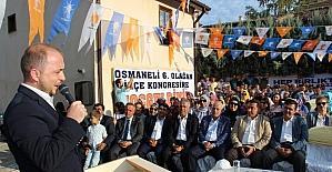 AK Parti Osmaneli İlçe Teşkilatı 6'ncı Olağan Kongresini yaptı